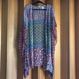 Patrons of Peace Printed Kimono